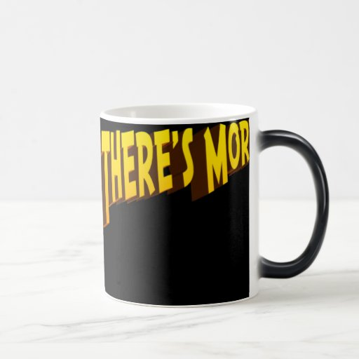 But Wait There's More (morph) 11 Oz Magic Heat Color-Changing Coffee Mug