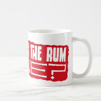 But why is the rum gone? coffee mugs