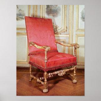 Butaca de Louis XIII Póster