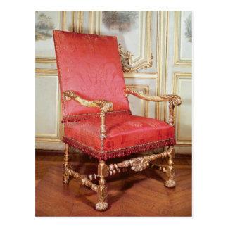 Butaca de Louis XIII Tarjeta Postal
