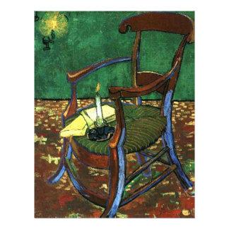 Butaca de Paul Guaguin de Vincent van Gogh Tarjetas Publicitarias