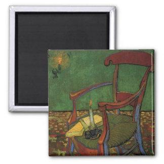 Butaca de Van Gogh Paul Gauguin arte del vintage Imán Para Frigorífico