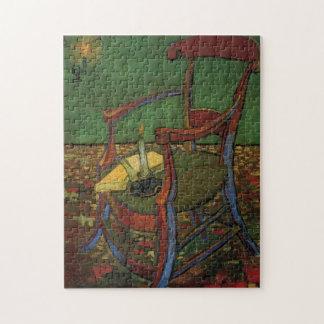 Butaca de Van Gogh Paul Gauguin, arte del vintage Rompecabeza