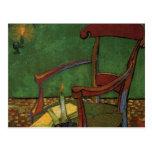 Butaca de Van Gogh Paul Gauguin, arte del vintage Tarjeta Postal