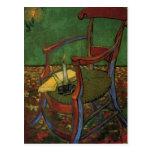 Butaca de Van Gogh Paul Gauguin, arte del vintage Tarjetas Postales