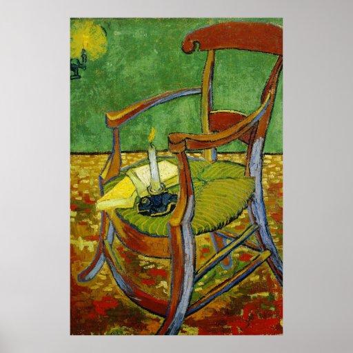 Butaca de Van Gogh Paul Gauguin (F499) Poster