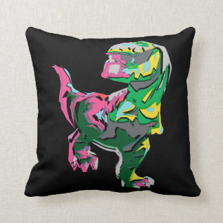 Butch Abstract Silhouette Throw Pillow