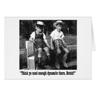 Butch and Sundance Greeting Card