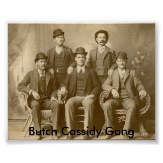 Butch Cassidy Gang Print
