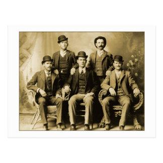 Butch Cassidy y el manojo salvaje Tarjeta Postal