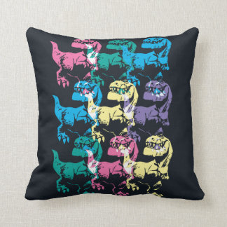 Butch Color Stamp Throw Pillow