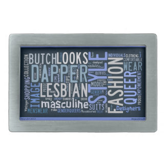 Butch, Dapper, Queer Lesbian Belt Buckle