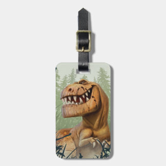 Butch In Forest Luggage Tag