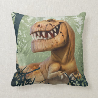 Butch In Forest Throw Pillow