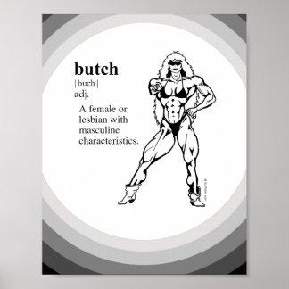 BUTCH (lesbian) Poster