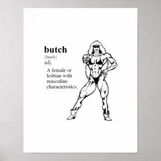 BUTCH (lesbian) Posters