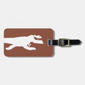 Butch Silhouette Luggage Tag