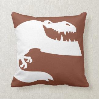 Butch Silhouette Throw Pillow