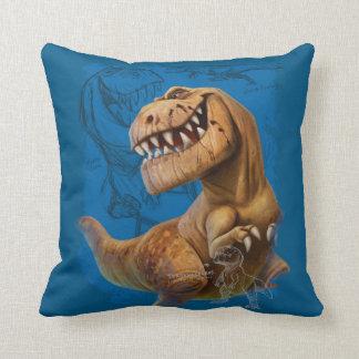 Butch Sketch Composition Throw Pillow