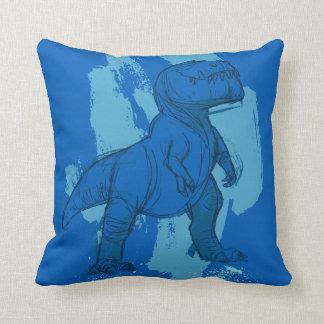 Butch Sketch Throw Pillow