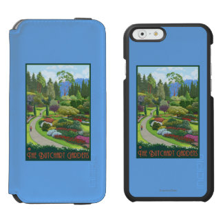 Butchart Gardens - Brentwood Bay iPhone 6/6s Wallet Case