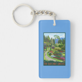 Butchart Gardens - Brentwood Bay Keychain