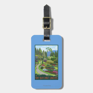 Butchart Gardens - Brentwood Bay Luggage Tag