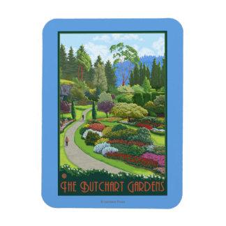 Butchart Gardens - Brentwood Bay Magnet