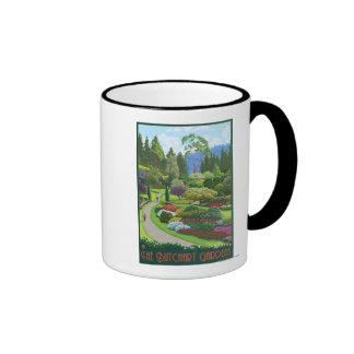 Butchart Gardens - Brentwood Bay Coffee Mugs