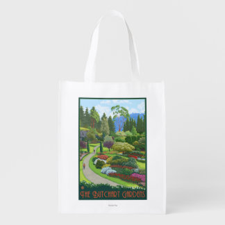 Butchart Gardens - Brentwood Bay Reusable Grocery Bag