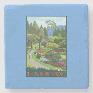 Butchart Gardens - Brentwood Bay Stone Coaster