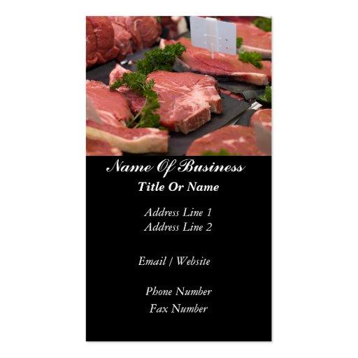 Butcher Business Card