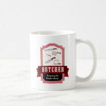 butcher, carnivore coffee mug