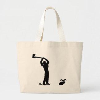 butcher icon tote bags