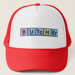 Trucker Hat with Butcher design