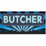 Butcher Marquee Photo Sculptures