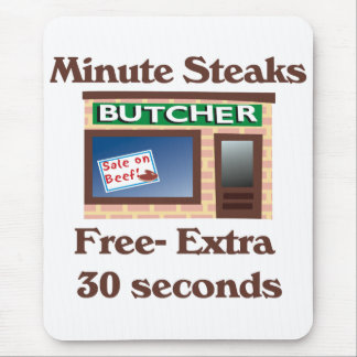 Butcher Mouse Pad