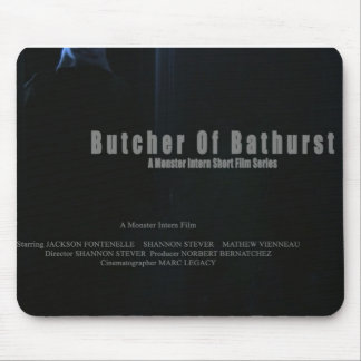 Butcher of Bathurst Mousepad