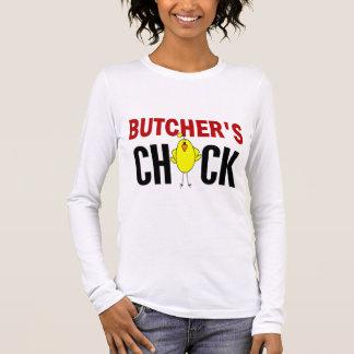 BUTCHER'S CHICK LONG SLEEVE T-Shirt