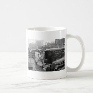 Butcher Shop Boys, 1938 Classic White Coffee Mug