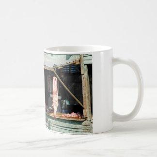 butcher shop coffee mug