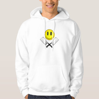 Butcher Smiley Face Hoodie