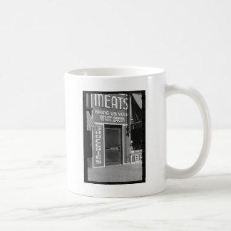 Butcher Store Mugs