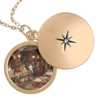 Butcher - The game center 1895 Locket Necklace