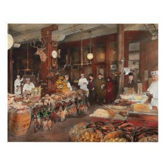 Butcher - The game center 1895 Panel Wall Art
