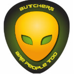 Butchers Are People Too Photo Cut Out