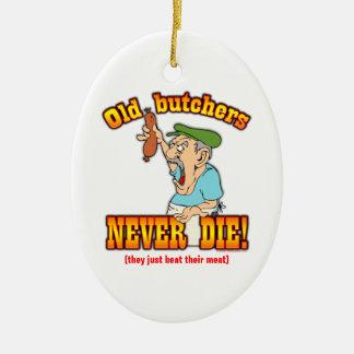 Butchers Ceramic Ornament