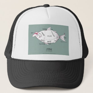 butchers cuts fish, tony fernandes cap