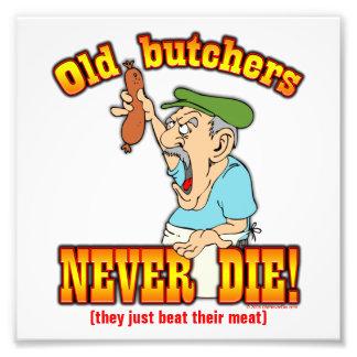 Butchers Photographic Print