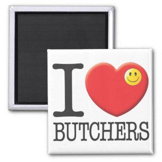 Butchers Refrigerator Magnets